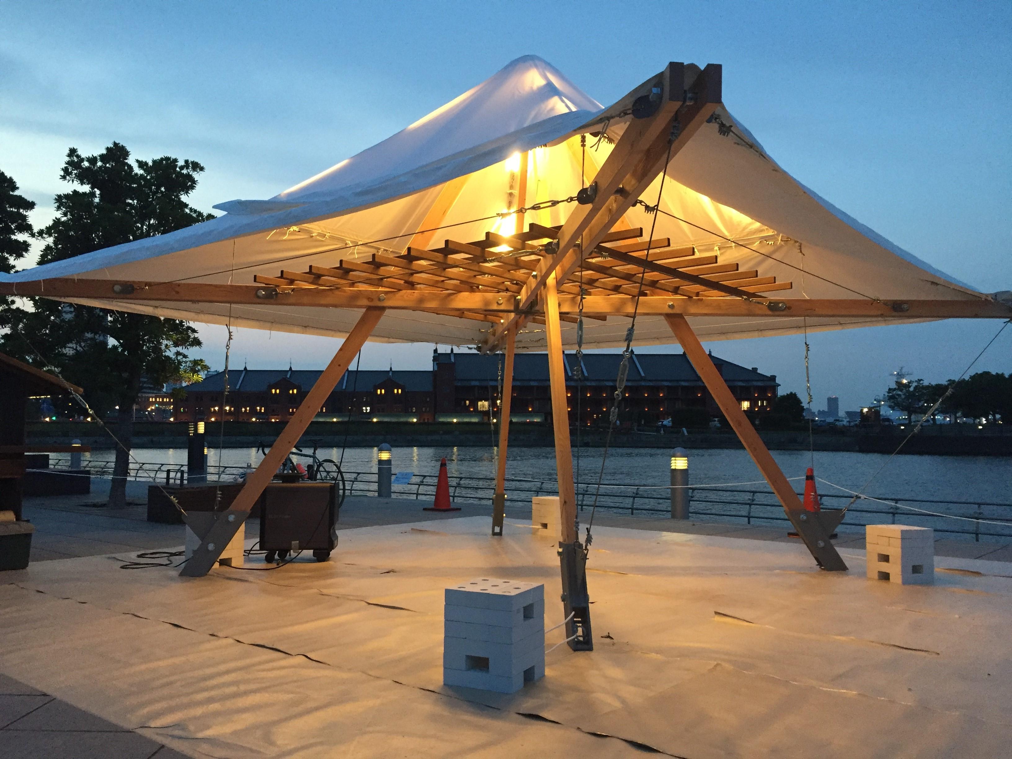 象の鼻テラス開館10周年記念企画 フューチャー・スケープ・プロジェクトに参加します。(JIA神奈川)